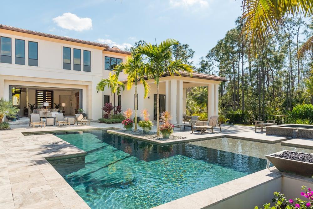 Outdoor Pool - Naples Florida